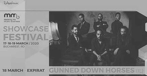 Gunned Down Horses to be Chosen and Participte in MMB Showcase Festival, Bucharest 17-19 of March, 2