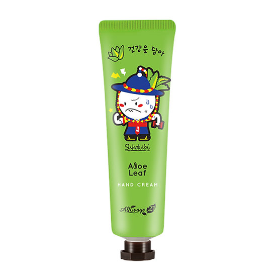 Always21,  Кремя для рук Aloe Leaf Suhokebi Hand Cream