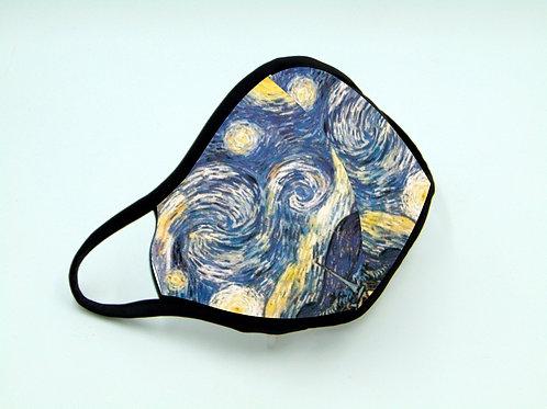 Coprimascherina Van Gogh