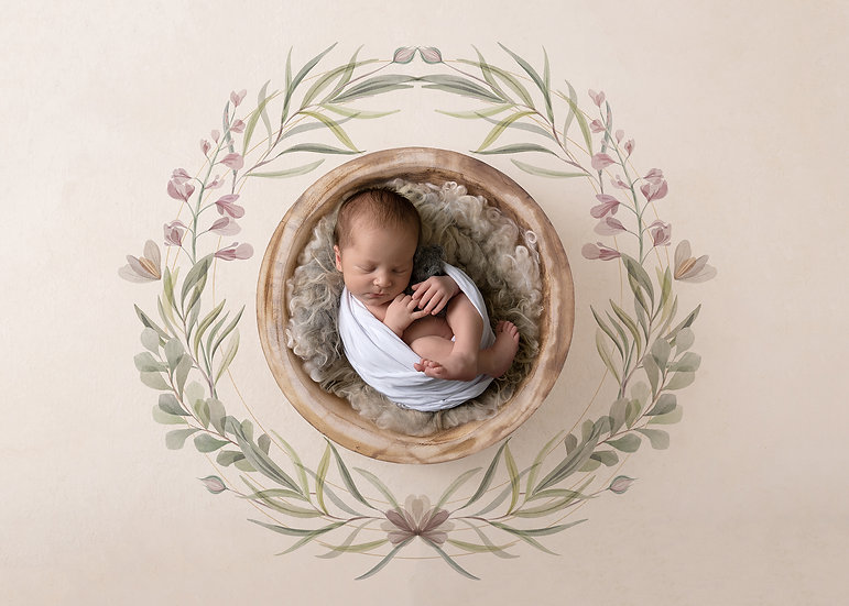 In Home Newborn Session