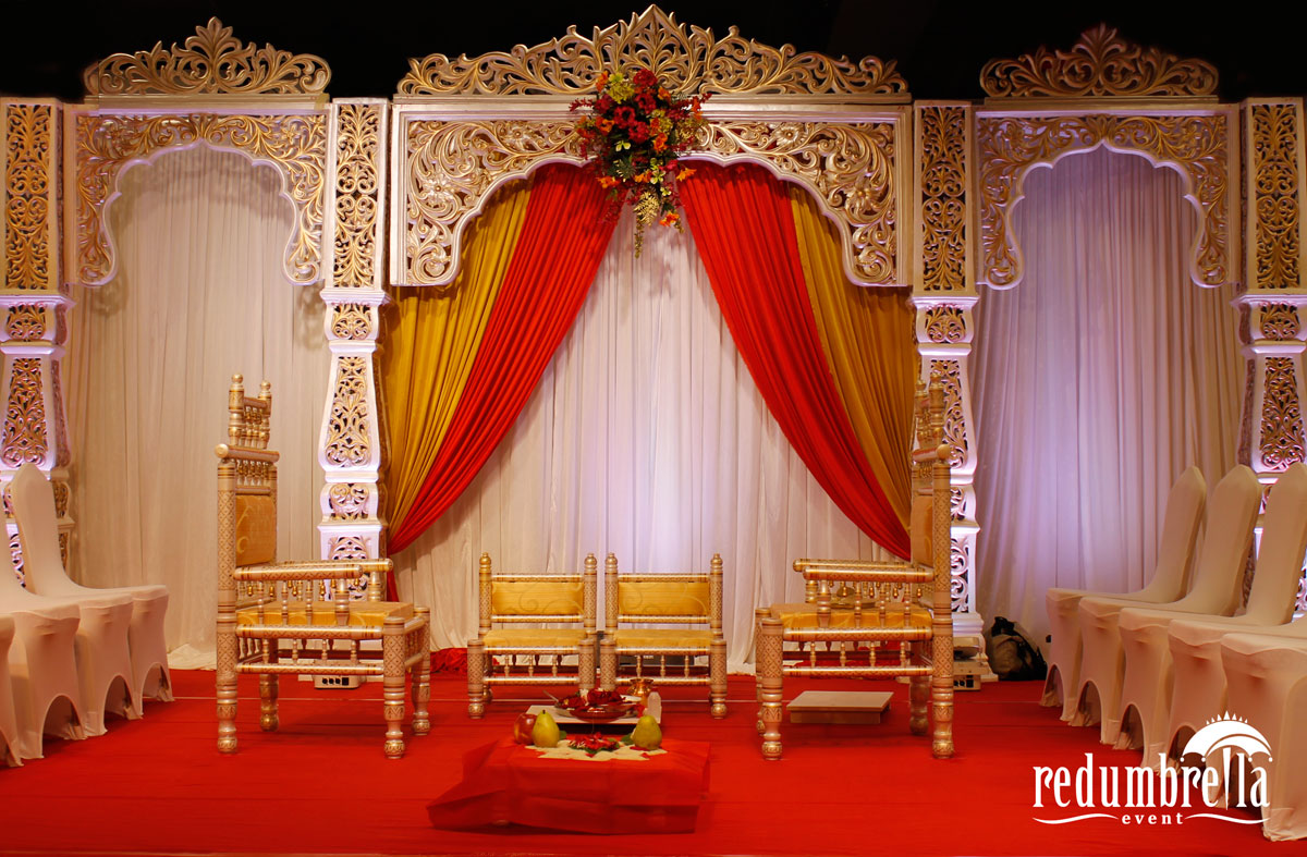 OPEN WEDDING MANDAP DESIGN