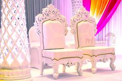 Wedding at BAPS Temple