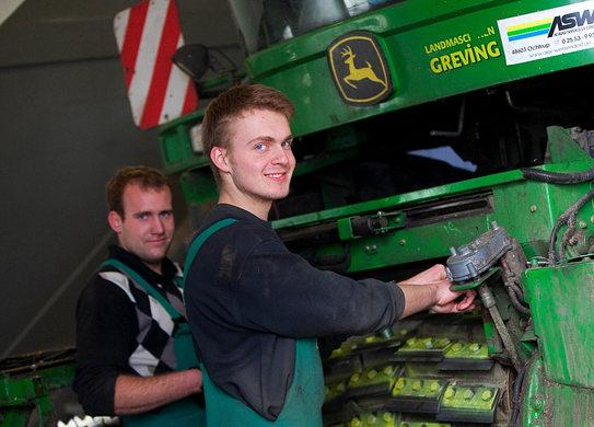 Werkstatt Landmaschinenmechaniker