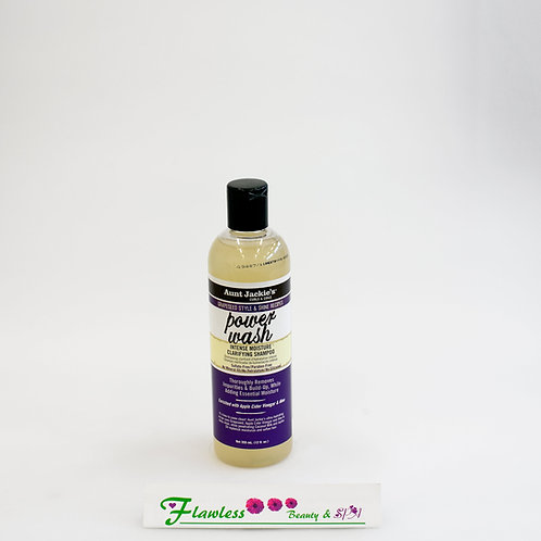 Aunt Jackie's Grapeseed Style & Shine Recipes POWER WASH Intense Moisture Clarif