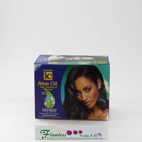 Ic Fantasia Aloe Oil Hair Treatment Relaxer (Super)