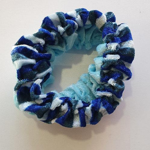 colourful Velvet Hair Scrunchies Hair Bands