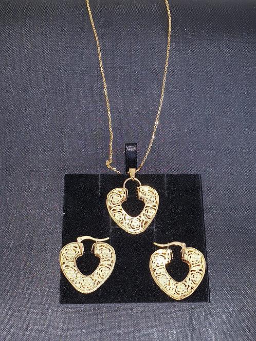 Arabian designs Set Gold plated Jewelry