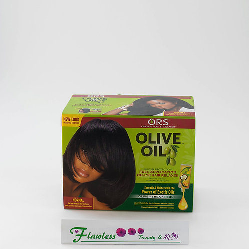 Organic Root Stimulator Olive Oil Built-In Protection No Lye Relaxer, Normal
