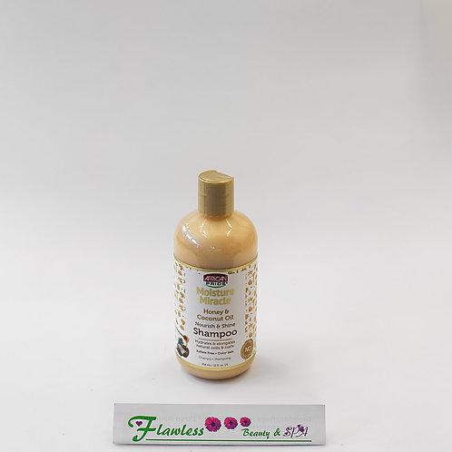 African Pride Honey & Coconut Oil Nourish & Shine Shampoo 354ml