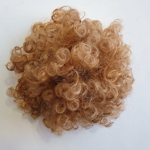 Afro kinky curly warop Bun, color 27