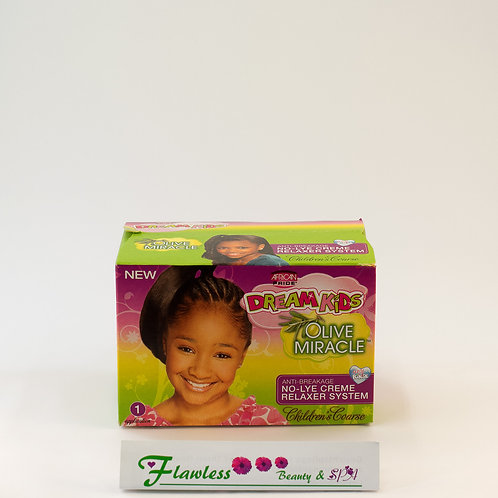 African Pride Dream Kids Olive Miracle Coarse No-Lye Relaxer 1ap