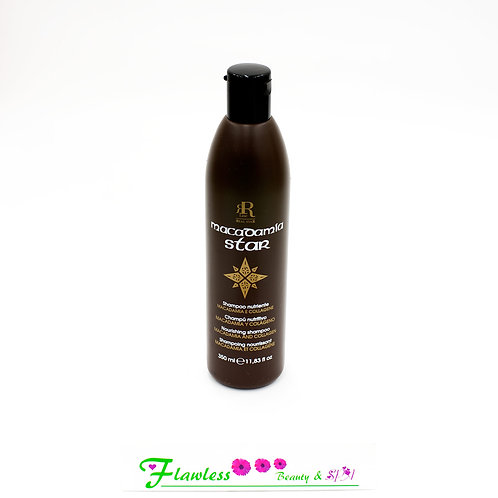 RR Line macadamia Star Shampoo with macadamia oil and collagen 350ml