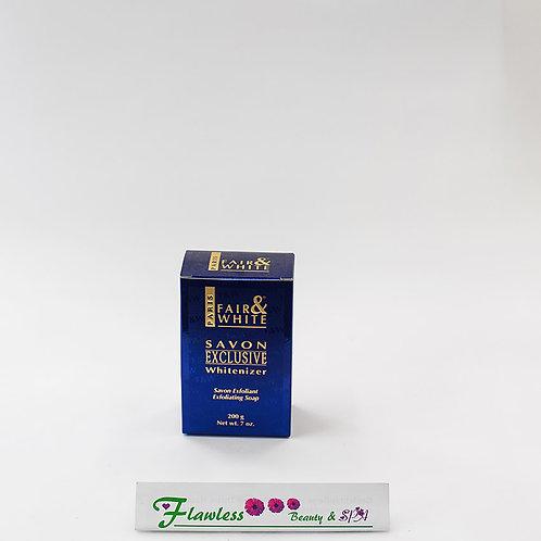 Fair and white EXCLUSIVE Whitenizer  Exfoliating Soap 200