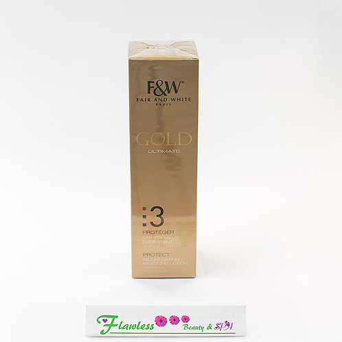 Fair and white Gold Argan Rejuvenating Moisture Lotion 500ml