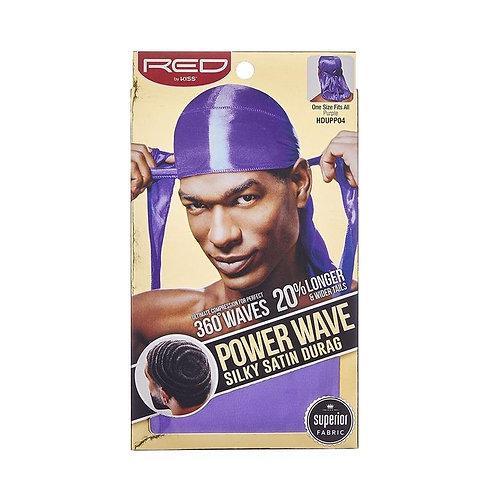Power Wave Silky Satin Durag - Purple