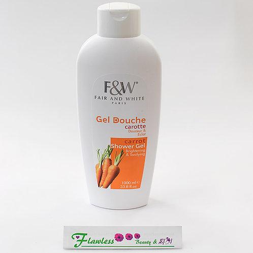 Fair and White Shower Gel Carrot | Original 1000ml