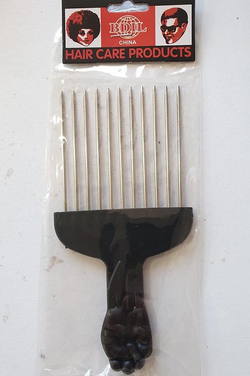 WT Afro Comb steel