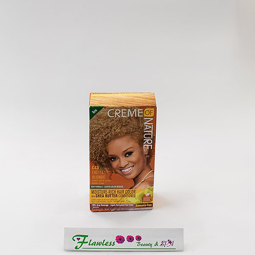 Creme Of Nature Lightest Blonde Moisture Rich Hair Color C43