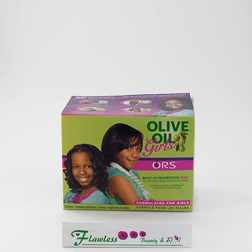 Organic Root Stimulator Olive Oil Girl No Lye Conditioning Hair Relaxer System