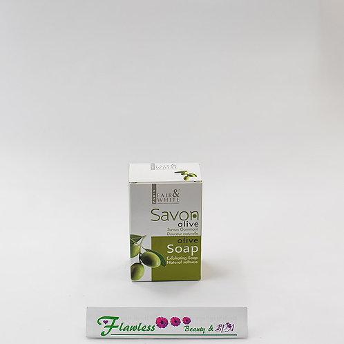 Fair and White Original Olive Oil Exfoliating Soap 200g