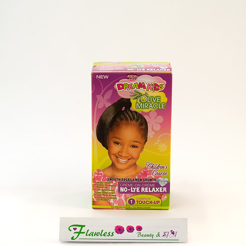 African Pride Dream kids Olive Miracle Coarse No-Lye Relaxer 1 touch-up