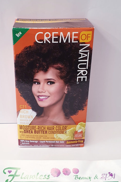 Creme of Nature Exotic Shine C21 Rich Permanent Hair Color