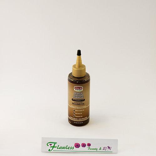 African Pride Black Castor Miracle Hair & Scalp Sealing Oil 177ml