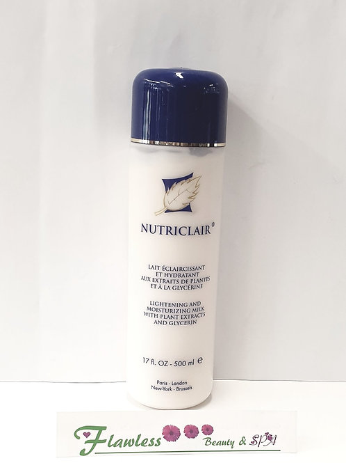 Nutriclair Lightening and Moisturizing Milk with Plant Extracts and Glycerin 500