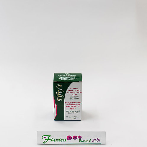 Fifty's Ageless Exfoliating & Complexion Soap 200g