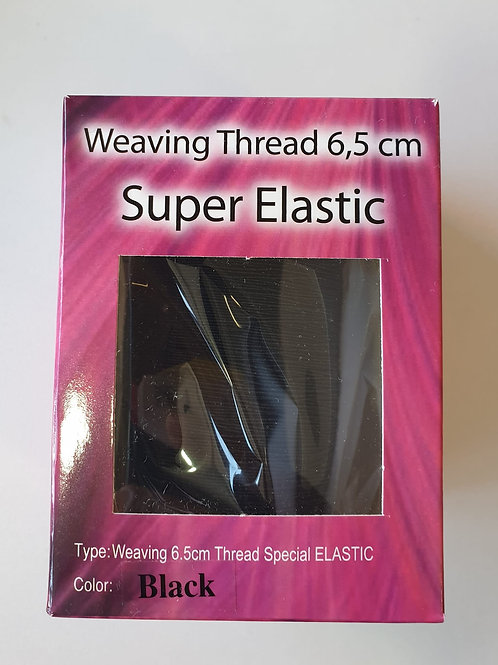 Dream Hair Weaving 6,5cm Thread Special ELASTIC Black