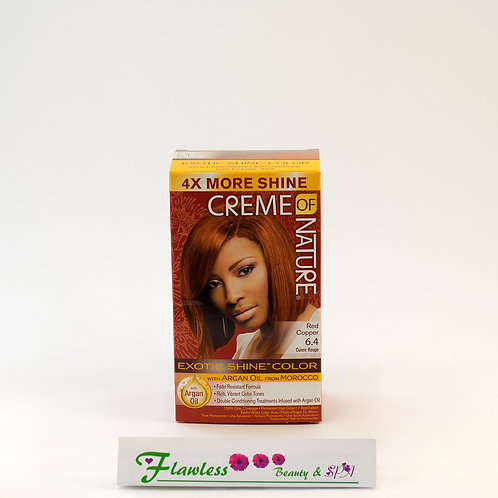 Creme of Nature Exotic Shine Color Red Copper 6.4