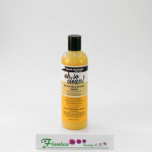 Aunt Jackie's Oh So Clean Moisturizing and Softening Shampoo 355ml