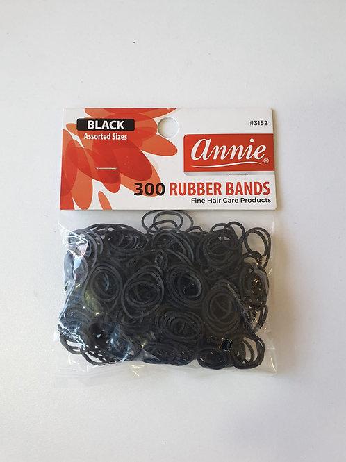 Black colors rubber bands loom 300pcs