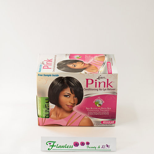 Luster's Pink 2-Application Conditioning No-Lye Relaxer System Super