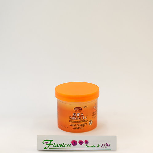 African Pride Shea Miracle Curl Styling Custard 340g