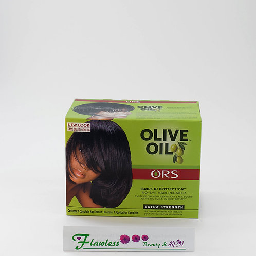 Organic Root Stimulator Olive Oil No Lye Relaxer, Extra Strength