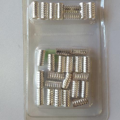Hair Braid Beads Loops Metal Cuffs Braiding Hair Jewelry Hair Decoration