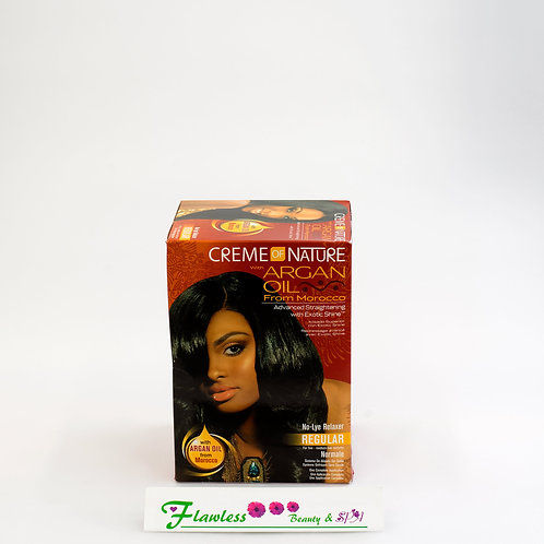 Creme of Nature with Argan Oil From Morocco Advanced Straightening Relaxer Regul