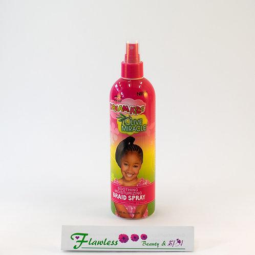 African Pride Dreams Kids Olive Miracle Braid Spray 355 Ml