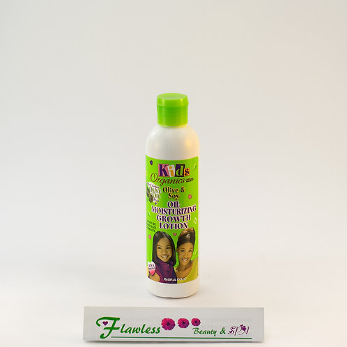 Africas Best Kids Organics Olive & Soy Oil Moisturizing Growth Lotion