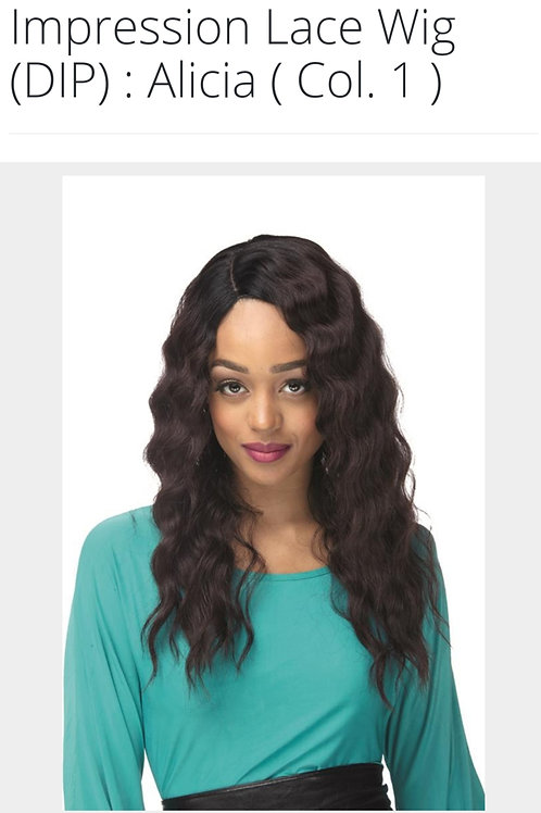 Impression Invisible L Part Lace Front Wig Alicia