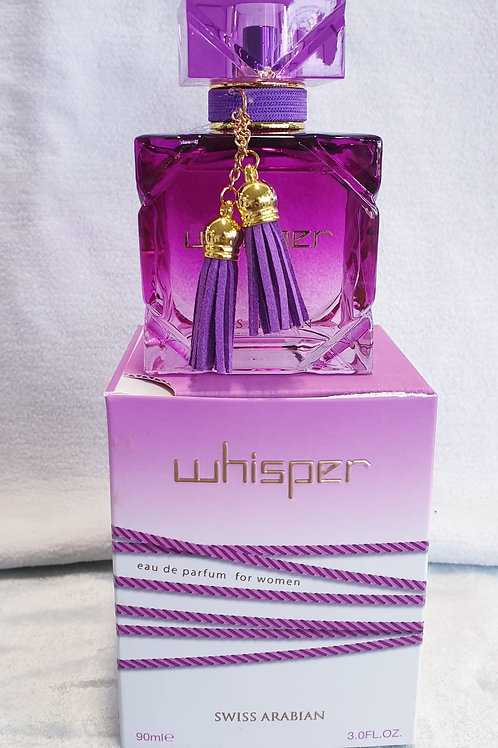 Whisper Swiss Arabian Eau de parfum for women