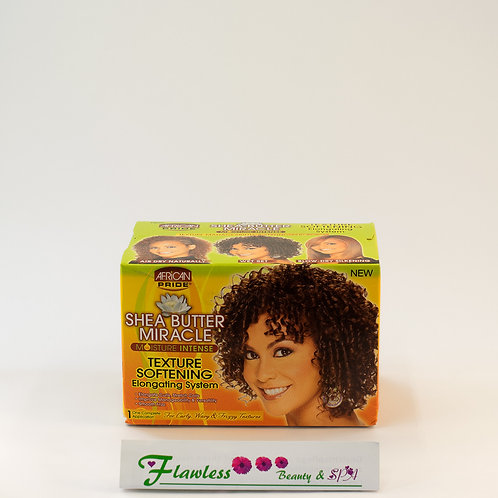African Pride Shea Miracle Texturizing Softening Kit