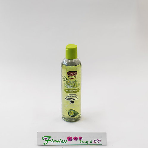 African Pride Olive Miracle Anti-Breakage, Maximum Strengthening Growth Oil 237m