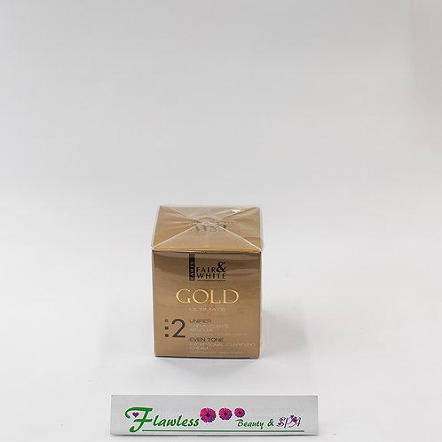 Fair and white Gold AHA Gold Exceptional Clarifying Cream 200ml