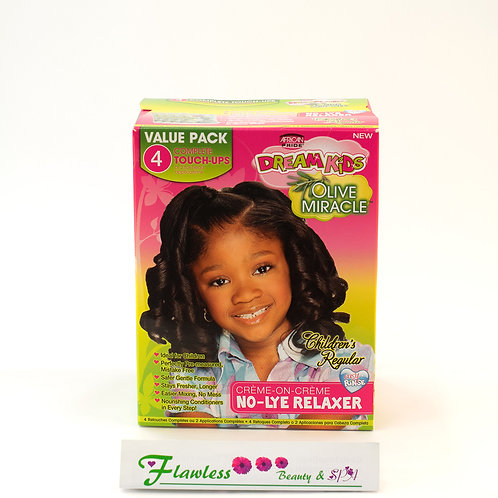African Pride Dream Kids Olive Miracle Anti Breakage No Lye Creme 4Ap Regula