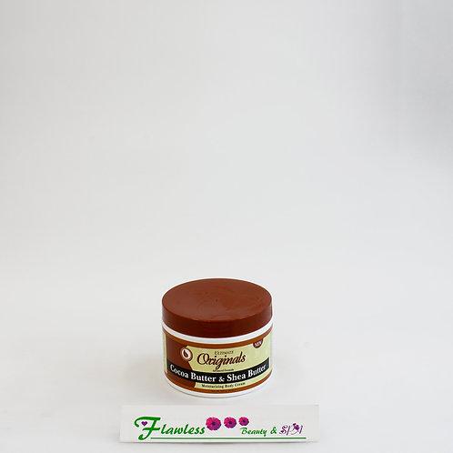 Ultimate Organics Cocoa Butter & Shea Butter Moisturizing Body Cream 238ml