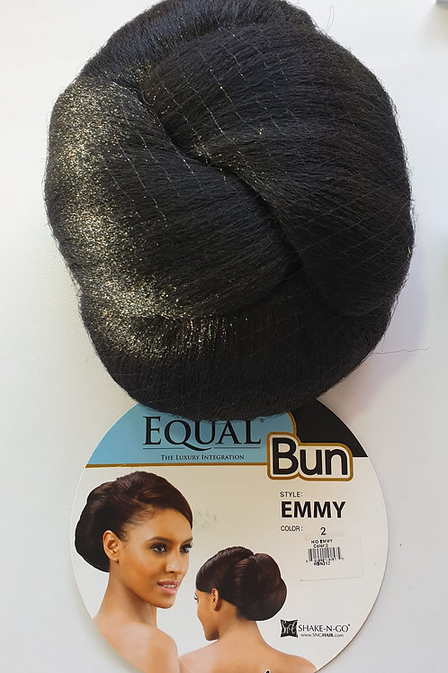 Equal synthetic hair Bun, Emmy