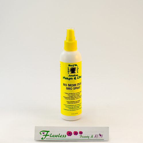Jamaican Mango & Lime No More Itch Gro Spray 237ml