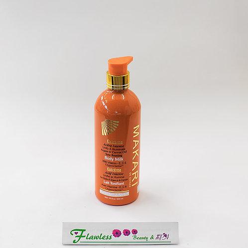 Makari Extreme Active Intense Tone Boosting Body Milk 500ml